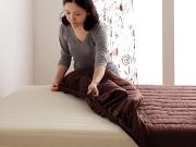 色・寝心地が選べる!20色カバーリングマットレスベッド