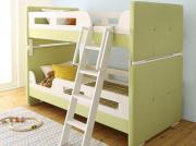 ふっくらかわいい・2段ベッド【Fronmo】フロンモ