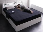 棚・コンセント付き収納ベッド【Rizeros】リゼロス